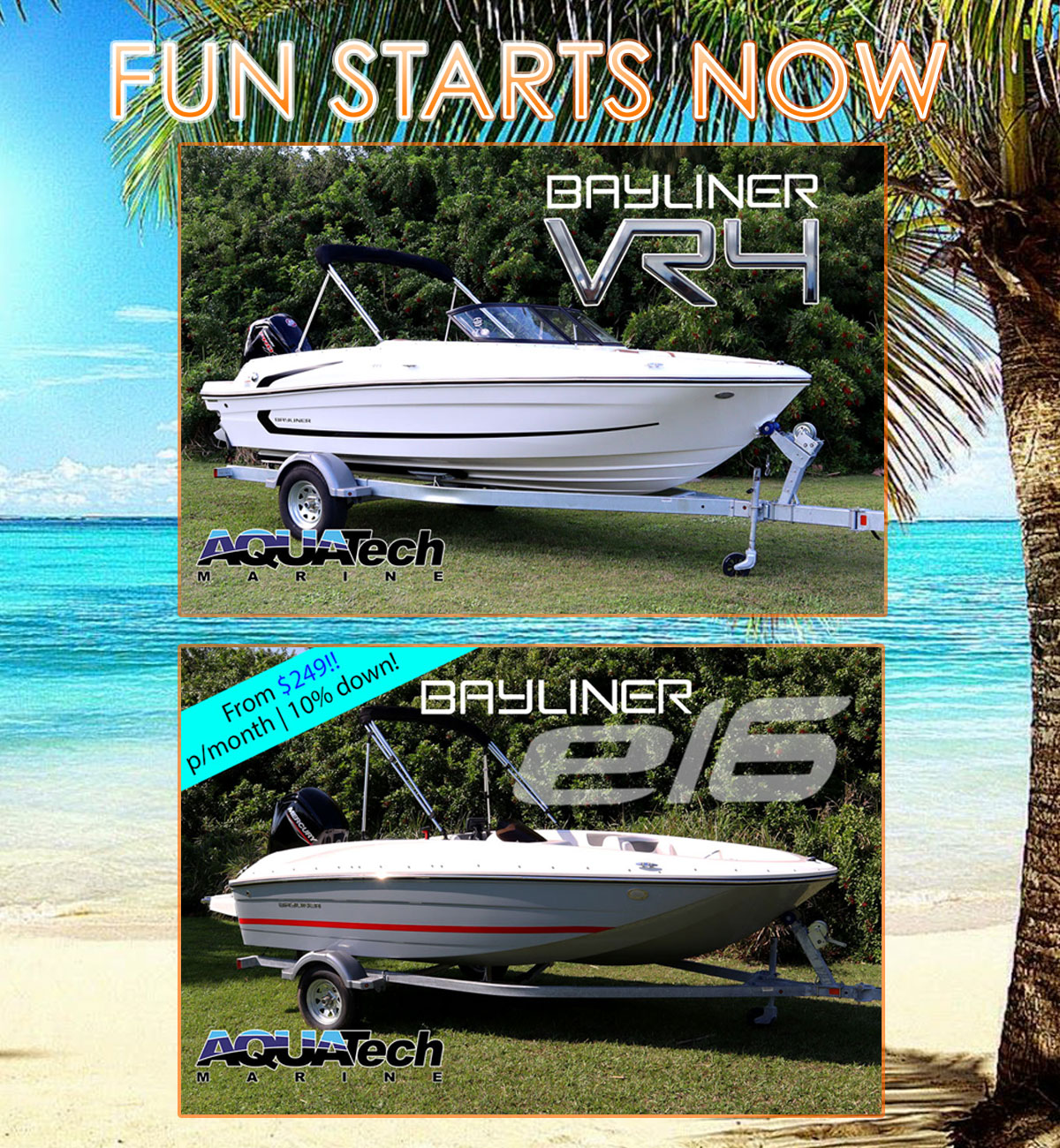Bayliner Fun Starts Now Sale