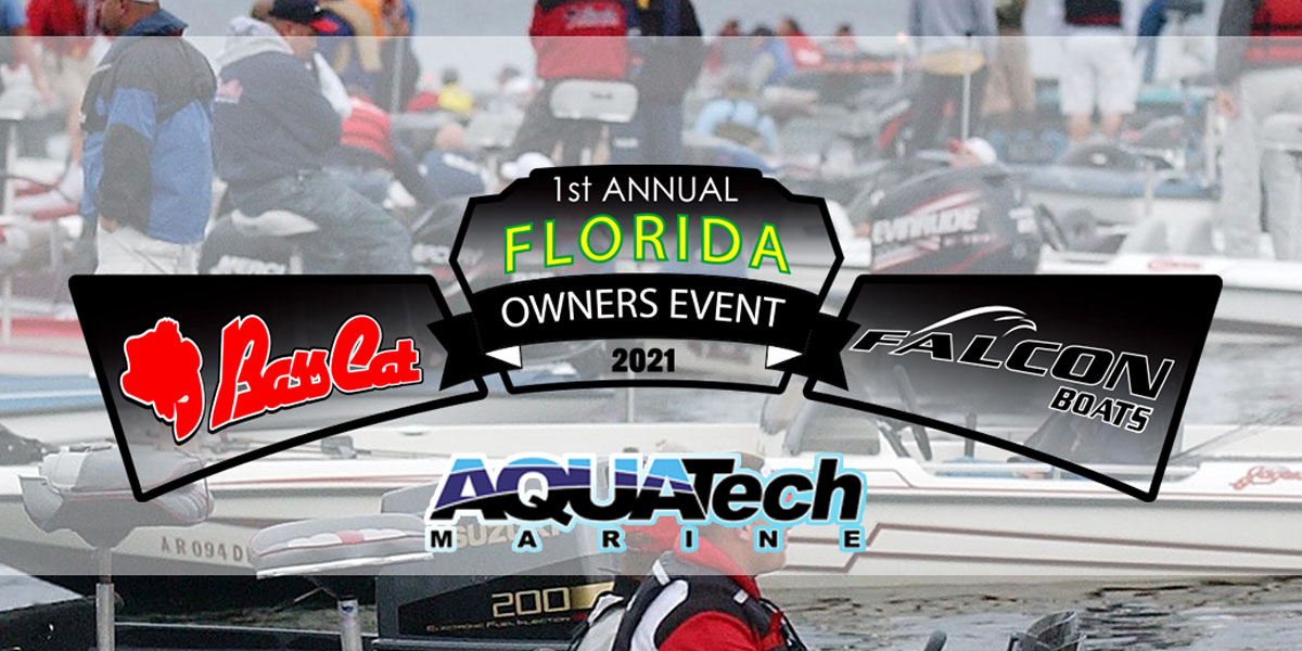 Florida Bass Cat and Falcon Owners Event Registration page